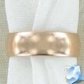 Золотое обручальное кольцо 6 мм