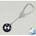 Серебряный брелок BMW