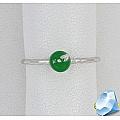 Детское серебряное кольцо с эмалью