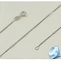 """Серебряная цепочка """"Венецианская"""" с шариками"""